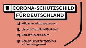 Corona-Schutzschild für Deutschland